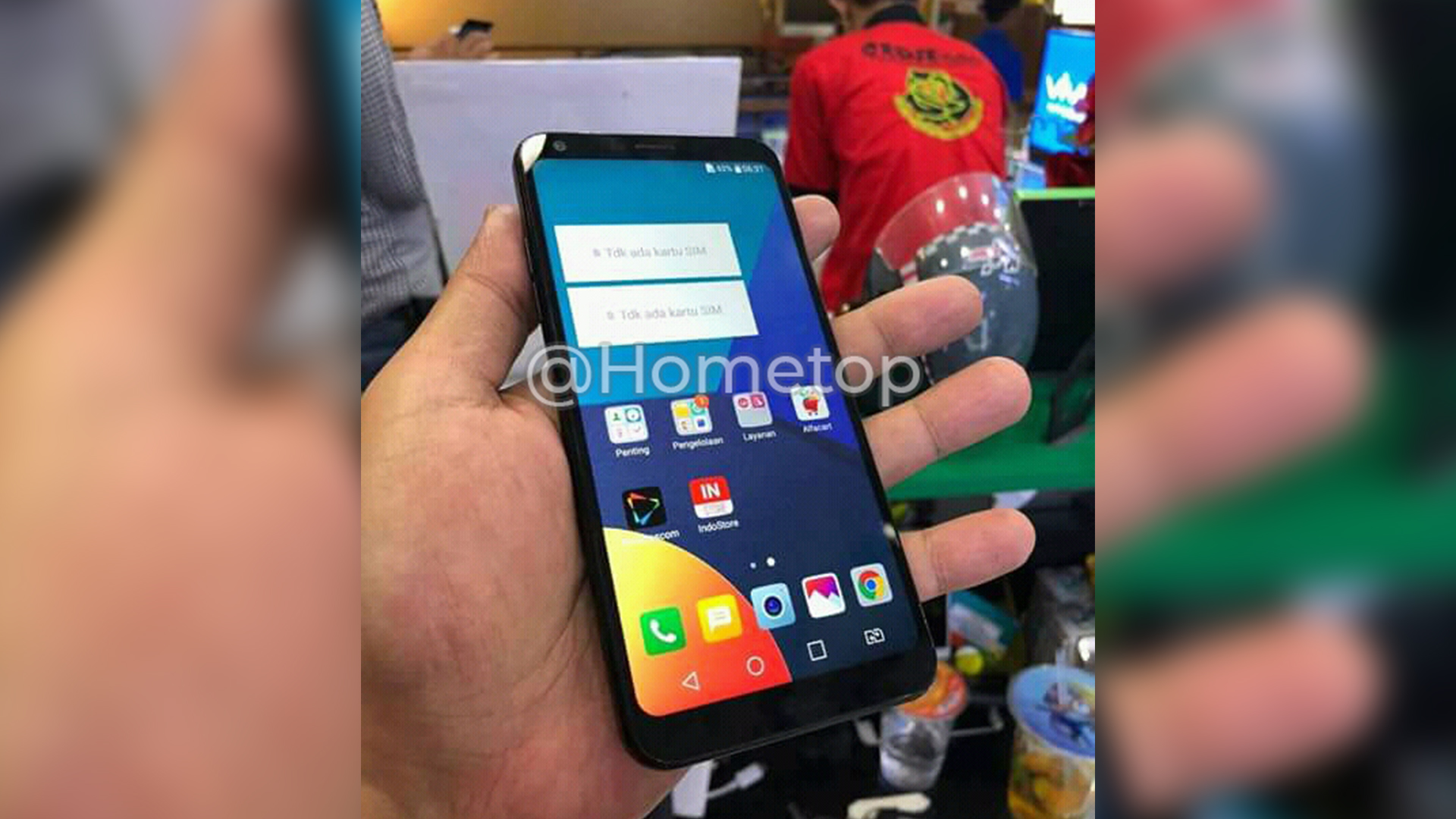LG Q9 Hands-on image leaked online reveals 18:9 display