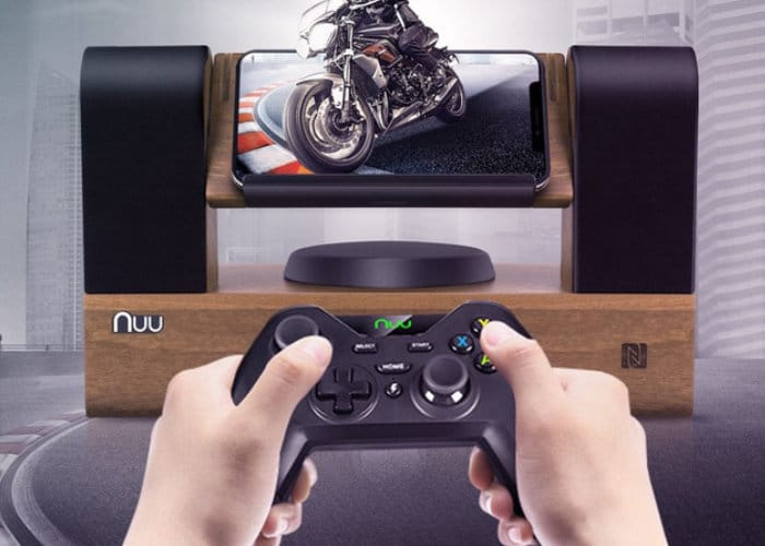 Game Zoom GZ1 Bluetooth Speaker Docks for Mobile Gamers
