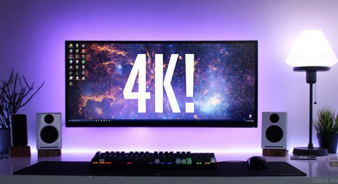 smallest 4k monitor