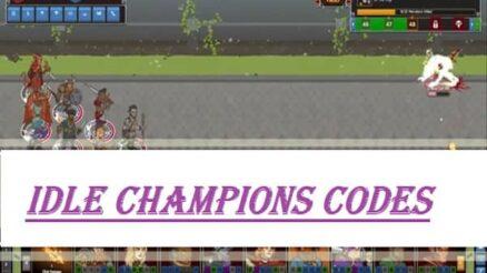 idle champions codes