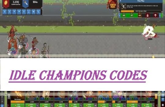 idle champions codes