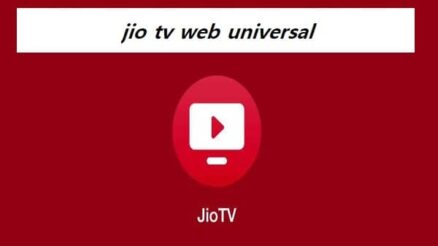 jio tv web universal